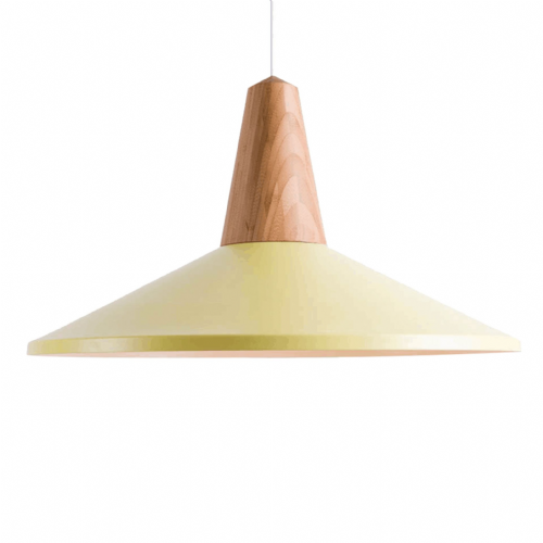 Eikon Shell Pendant Ceiling Lights, Type A Yellow